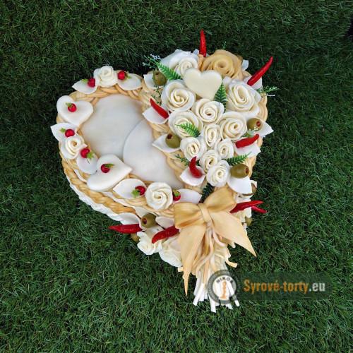 Sýrový dort lví srdce