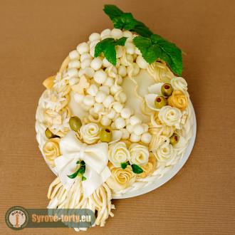 Sýrový dort pro vinaře