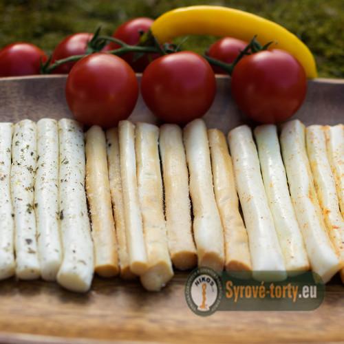 Sýrové tyčinky česnekovo-uzené