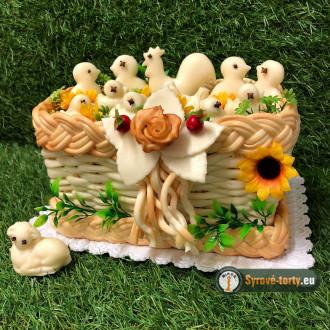 Velikonoční sýrová krabička